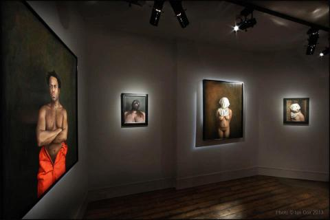 Dan Witz Portrait London