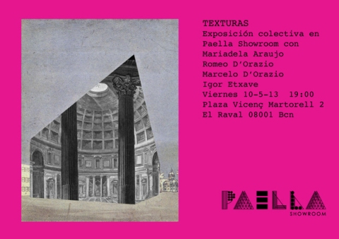 Paella Showroom Texturas